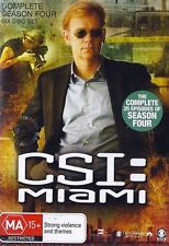 C.S.I. CSI MIAMI : SEASON 4 : NEW DVD