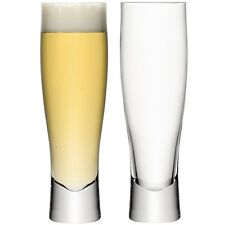 LSA Bar Lager Glass 550ml - Pair