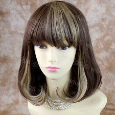 Wiwigs Trendy Blonde & Brown Mix Medium Heat Resistant Ladies Wig