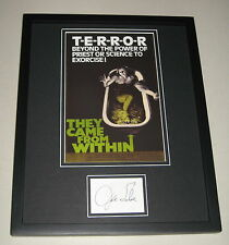 Joe Silver Signed Framed 11x14 Photo Display They Came From Within Shivers
