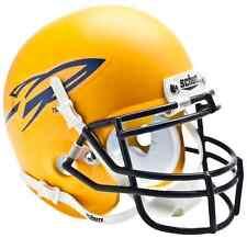 TOLEDO ROCKETS NCAA Schutt Authentic MINI Football Helmet (MATTE YELLOW)