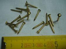 pointes laiton tête ronde 14 mm par 1,5 mm 70 gr