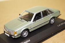 Opel Senator 1980 grün metallic 1:43  Minichamps neu & OVP 400045100