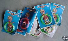 Lot of 8 Vintage Kids Bracelet Ring Set Toys MIP  LOOK