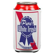 4th of July Pure White Trash All Over Can Cooler