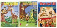 Moro und Lilli - Die Gitarrenschule für Kinder - Band 1, 2 oder 3 ohne CD
