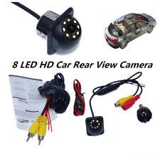 8 LED Car Rear View Camera Night Vision Car Reversing Backup For Parking Monitor