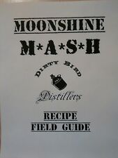 Moonshine Mash Recipe Book 18 Recipes, Rum, Vodka, Corn Whiskey & More