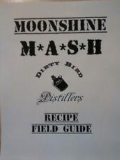 Moonshine Mash Recipe Book 18 Recipes, Rum, Vodka, Corn Whiskey & More