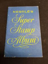 NESTLES - A5 Vintage Super Stamp Album - No Stamps - GOOD