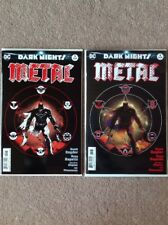 DARK NIGHTS METAL #1 1:100 Variant & MIDNIGHT Variant Batman NM