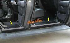 For Jeep Wrangler JL 2018+ Gladiator JT 2020 Door Sill Guard Scuff Plate Trim*4X