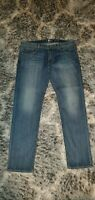 Men's 7 for all Mankind SLIMMY Slim Straight Jeans size 38 x 33 authentic