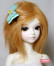 "6~7"" (16~17cm) 1/6 BJD DOLL MSD Fur Wig Dollfie  Brown"