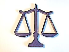 """""""Scales of Justice""""  Legal Professional Symbol ~ 12"""" Tall ~ Black"""
