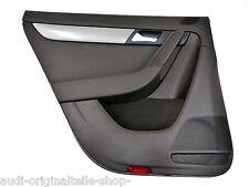 VW PASSAT B7 Variante Paneles de Puerta Marrón Natural Tela trasero izquierdo