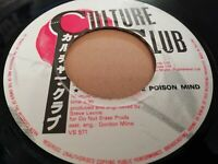 "CULTURE CLUB * CHURCH OF THE POISON MIND * 7"" SINGLE EXCELLENT"