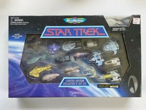 Micro Machines Star Trek Series Series 3 Limited Edition Set III NISB No Reserve