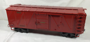 Buddy L OUTDOOR RAILROAD Red Boxcar # 96834 T-REPRODUCTIONS Train Set