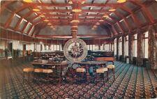 Cal Neva Lodge Interior Lake Tahoe California Postcard Roberts 12455