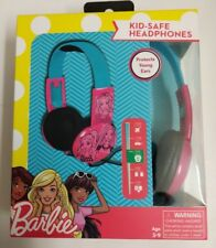 Barbie Kids Safe Volume Limiting Headphones Over The Ear Ages 3-9
