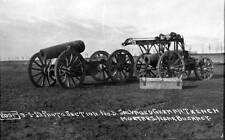 Photo. 1919. WW1. Salvaged German Trench Mortars