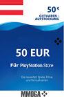 Für €50 Playstation Network PSN 50 Euro Code - For PS5 PS4 PS3 PS Vita Card - AT