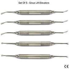 Medentra ® Implant Sinus Lift ascenseurs Curettes Sinus étage chirurgie buccale 5PCS CE