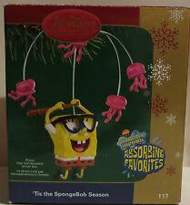 Carlton Cards Ornament Tis the Spongebob Season Original box. Heirloom 2006 117P