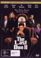 THE LAST DON 2 - MAFIA CLASSIC -COMPLETE SERIES NEW DVD - FREE LOCAL POST