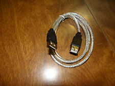 3.3' USB Computer Keyboard Extension Cable (Silver)