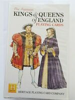 Kings & Queens of England Playing Cards NEW Sealed