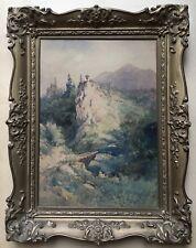 Ferdinand Mühlbacher (1844 - 1921) Bärenschütz chez Mixnitz #2 - Graz 1885