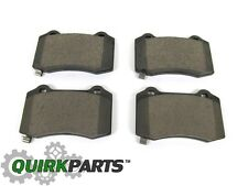 DODGE CHALLENGER CHARGER 300 SRT REAR BREMBO BRAKE PADS SET OF 4 OEM NEW MOPAR