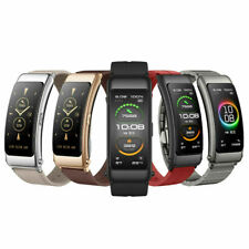 Huawei TalkBand B6 Width Bluetooth Smart Bracelet Sports Wristbands Touch AMOLED