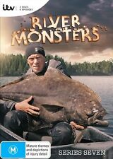 River Monsters : Season 7 (DVD, 2017, 2-Disc Set) (Region 4) Aussie Release