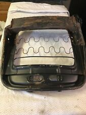 Fiat 124 Spider 1974-1980 Drivers Side Seat Pan with attached  position control