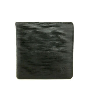 Louis Vuitton Epi Portefeuille Marco Black Leather Bifold Wallet /91072