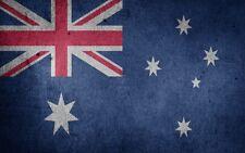 Australia *2X3 Fridge Magnet* Flag Banner Nation Country Symbol Grunge