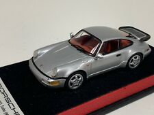 1/43 Minichamps Porsche 911 Turbo  (964) Silver Leather base.   A1006
