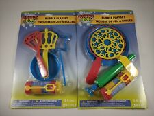 Bubble Fun Wand Set - Outdoor Activities For Kids Toys - Comes with Bubbles