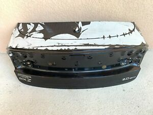 13-19 LINCOLN MKZ TRUNK DECK LID BLACK OEM white factory film needs to be rmoved