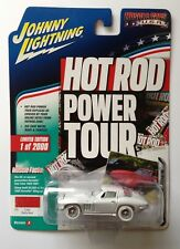 Johnny Lightning 1965 CORVETTE STINGRAY Hot Rod WHITE LIGHTNING Chase 1/64