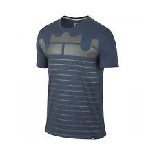 Nike Leborn Art Tee Herren T-Shirt Blue M (715207-460)