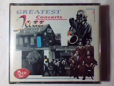 MODERN JAZZ QUARTET GERRY MULLIGAN DAVE BRUBECK Greatest jazz concerts 3cd