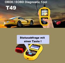 Escáner obd2 t49, se adapta para Honda-texto simple visualización & datos en directo
