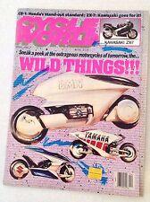 Cycle World Magazine BMW & Yamaha & Suzuki April 1989 030517NONRH