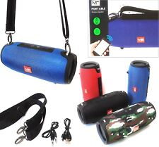 Musikbox Tragbarer Portabler M2-Tec Bluetooth Lautsprecher Soundbox Mp3 Radio