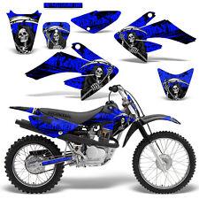 Honda CRF70 CRF80 CRF100 Decal Graphics Kit MX Dirt Bike Sticker Wrap REAP BLUE