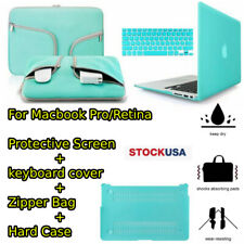 Keyboard Cover Set For Macbook Air Pro Retina 13 15 Laptop Bag Case Protect